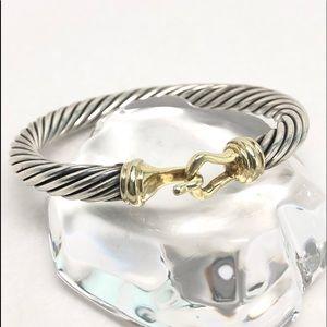 DAVID YURMAN 7mm Hook & Buckle Cable Bracelet